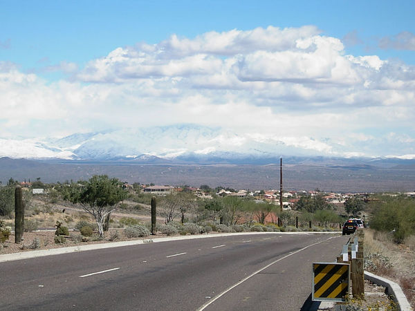 Four Peaks snow 3.12.06
